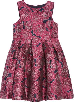 Pippa Pastourelle by & Julie Floral Brocade Fit & Flare Dress