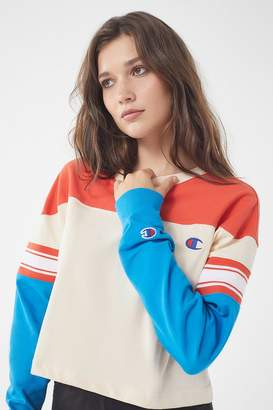 Champion & UO Colorblock Long Sleeve Tee