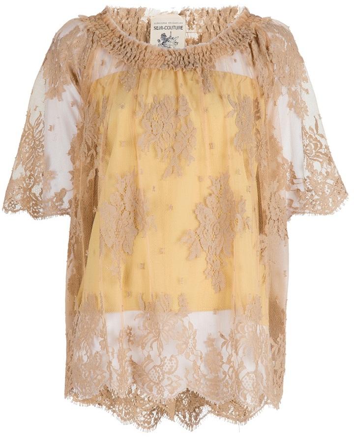 Semi-Couture Semi Couture gypsy top