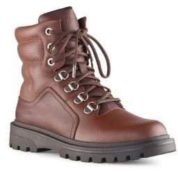 Cougar Sherman Fleece-Lined Leather Winter Boots