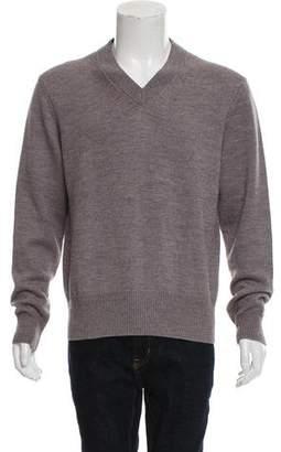 Tom Ford Woven V-Neck Sweater