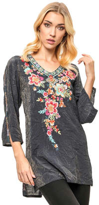 Adore Embroidered Bamboo Tunic