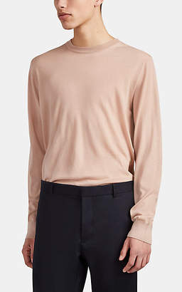 Lanvin Men's Cashmere Crewneck Sweater - Peach