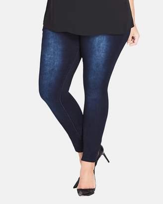 City Chic Asha Skinny Denim Jeans