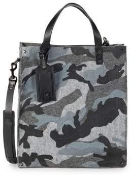 Valentino Camoflauge Tote Crossbody Bag