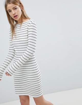Jdy Striped Bodycon Dress