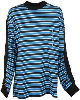 Givenchy Stripe Logo Print Sweatshirt