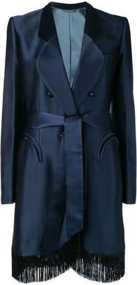 BLAZÉ MILANO fringed edge coat