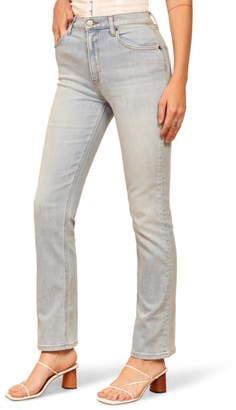 Reformation Roxy Straight Leg Jeans