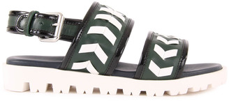 MARNI Swilly Fringed Leather Sandals $217.20 thestylecure.com
