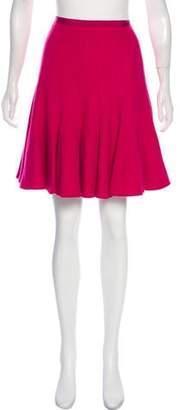 Paule Ka Knee-Length Wool Skirt