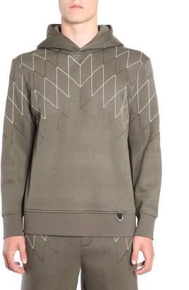 BLACKBARRETT by NEIL BARRETT Hooded Sweater