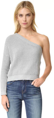 MLM LABEL Asymetrical Knit Top $175 thestylecure.com