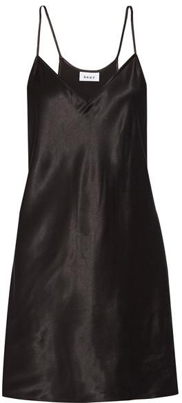 DKNY - Satin Tunic - Black