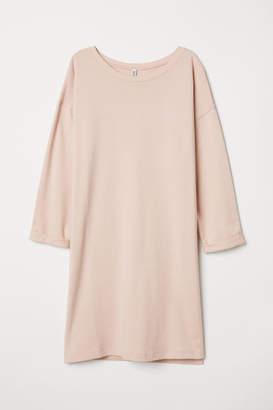 H&M Sweatshirt Dress - Orange
