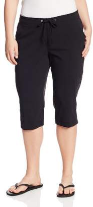 Columbia Women's Plus-Size Anytime Outdoor Capri Pants