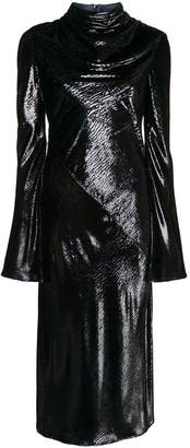 Ellery Gotham Cowl Midi Dress