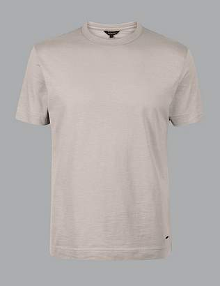 Marks and Spencer Supima® Cotton Crew Neck T-Shirt