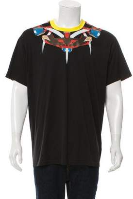 Givenchy Tribal Snake Graphic Print T-Shirt w/ Tags