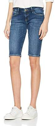 Cross Women's Amy Bermuda Shorts, (Dark mid Blue 028)