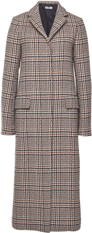 Filadefia Printed Fleece Wool Coat