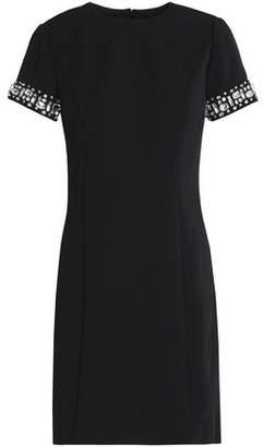 MICHAEL Michael Kors Embellished Crepe Mini Dress