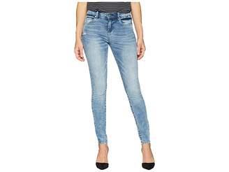 Blank NYC The Bond Mid-Rise Denim Skinny in Shaken, Not Stirred Women's Jeans