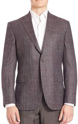 Jack Victor Men's COLLECTION Bamboo Textured Sportcoat