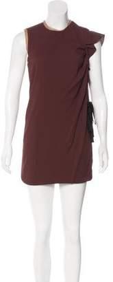 Aquilano Rimondi Aquilano.Rimondi Pleated-Accented Mini Dress w/ Tags