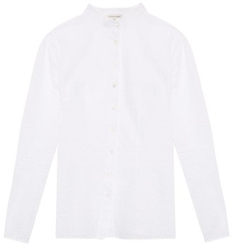 Sophie Theallet Anais Stand Collar Shirt - Womens - White