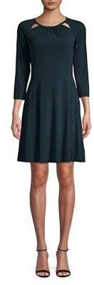 MICHAEL Michael Kors Dot A-Line Dress
