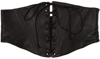 Kiki de Montparnasse Leather Cincher