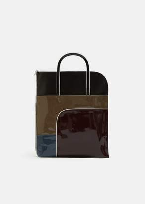 Pierre Hardy Machina Multi Calf Shoulder Bag Multi Burgundy