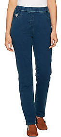 Factory Quacker Short DreamJeannes Pull-On SlimLeg Pants