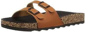 Qupid Women's Harvey-01 Slide Sandal