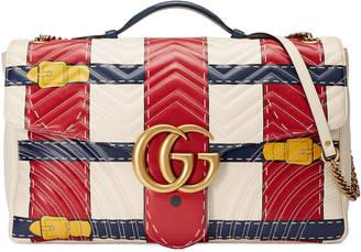 Gucci GG Marmont Trompe l'oeil maxi shoulder bag