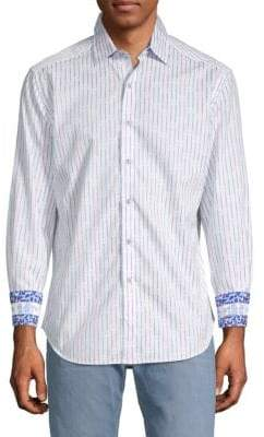 Robert Graham Bora Cotton Button-Down Shirt