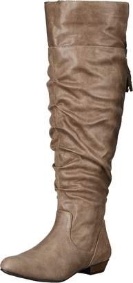 Fergalicious Women's Rookie Wide Calf Slouch Boot