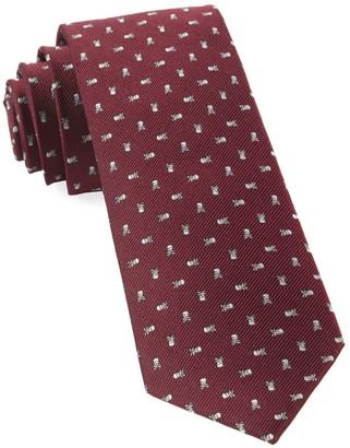The Tie Bar Mini Skull And Crossbones
