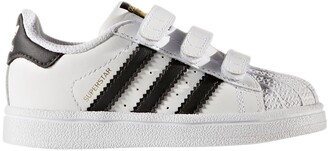 adidas Superstar CF I Touch 'N' Close Leather Trainers
