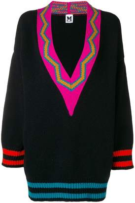 M Missoni v-neck oversized sweater