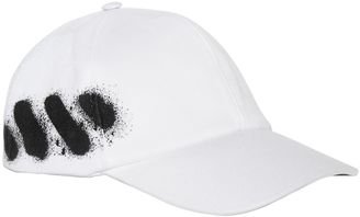 Spray Stripes Cotton Baseball Hat $118 thestylecure.com