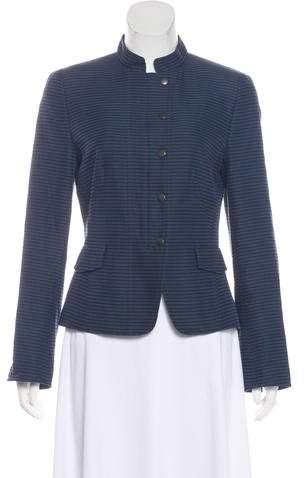 Akris Punto Casual Stripe Jacket