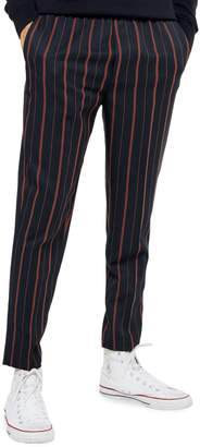 Topman Striped Joggers
