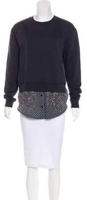 Stella McCartney Embellished Long Sleeve Sweatshirt