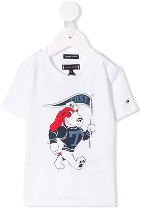 Tommy Hilfiger Junior mascot print T-shirt
