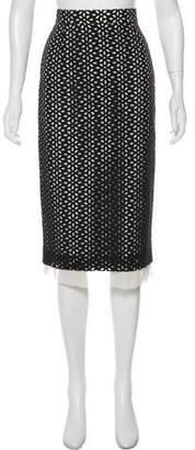 Derek Lam Midi Eyelet Skirt w/ Tags