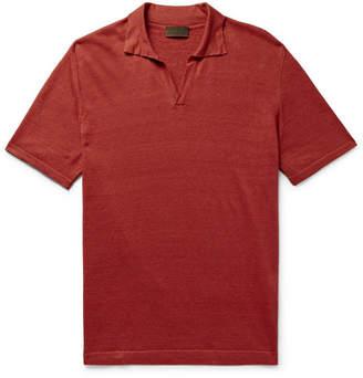 Altea Linen Polo Shirt