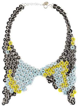 Christian Dior Disc Collar Necklace
