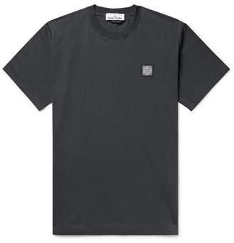 40cf567f Stone Island Logo-Appliquéd Cotton-Jersey T-Shirt